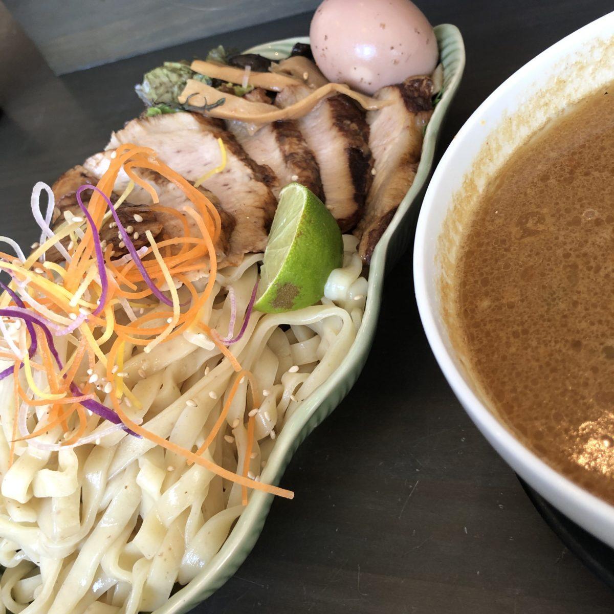 【鎌倉】一閑人でつけ麺ランチ!アジアンテイストな激辛ラーメンにおすすめ!
