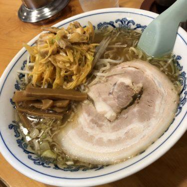 鎌倉老舗ラーメン「晴雨庵」の安くてうまいネギラーメンを食べてきた!